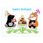誕生日 ポストカード