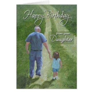 誕生日-娘からの… カード