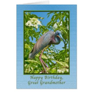 誕生日、曾祖母、Tricoloredの鷲I グリーティングカード