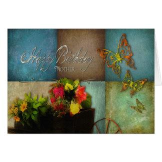 誕生日-母-国の花 カード