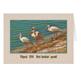誕生日、第59のトキ亜科の鳥 カード
