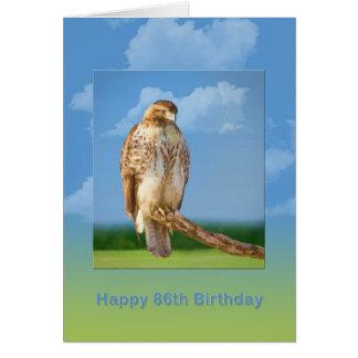 誕生日、第86の荒い脚のタカ カード