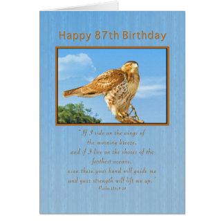 誕生日、第87の荒脚のタカ カード