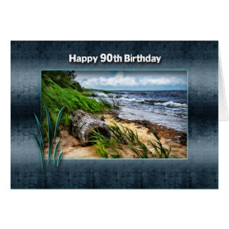 誕生日-第90 -流木 カード
