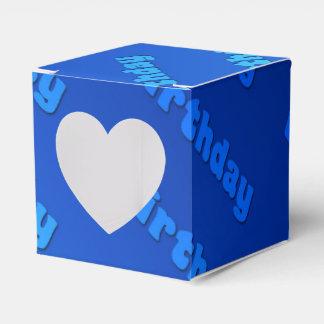 誕生日(青い) フェイバーボックス