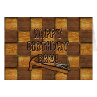 誕生日- BRO - CARPENTER/CONSTRUCTION カード