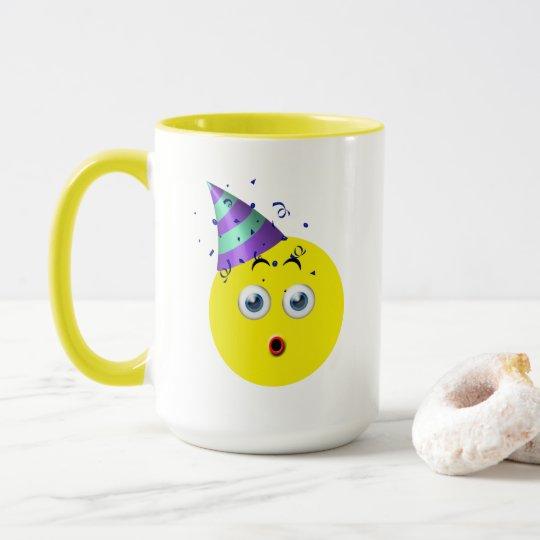 誕生日Emoji マグカップ