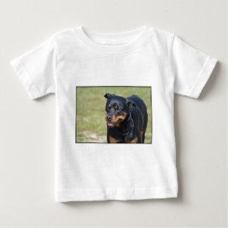 誠実なロットワイラー ベビーTシャツ