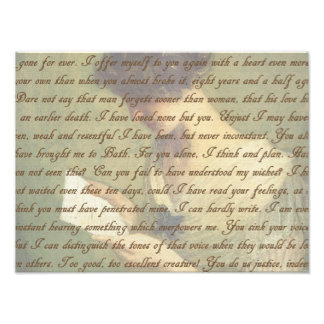 説得の手紙 フォトプリント