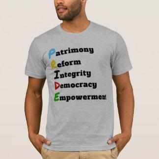説明される聖者のLucianのプライド Tシャツ