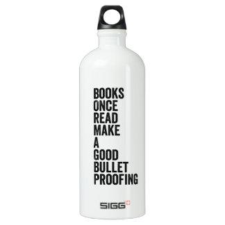 読まれる本、 ウォーターボトル