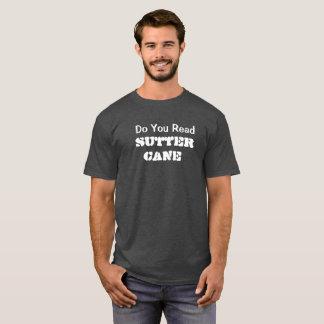 読みましたSutterの杖のTシャツを Tシャツ