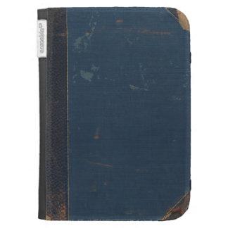読書が好きな連打された端が付いている古い青書カバー