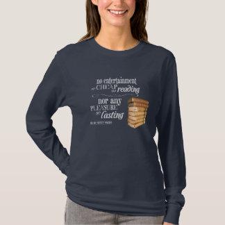 読書としてエンターテイメント無しそう安く Tシャツ