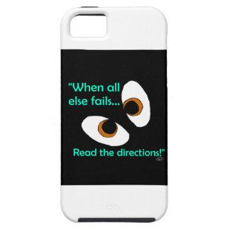 読書の方向を失敗します iPhone SE/5/5s ケース
