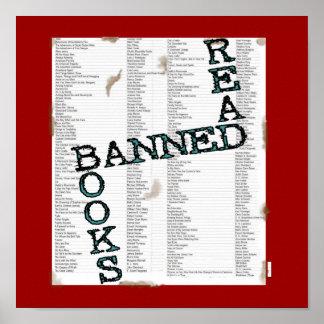 読書の禁止本 ポスター