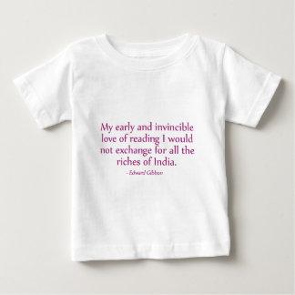 読書の私の早く、無敵愛 ベビーTシャツ