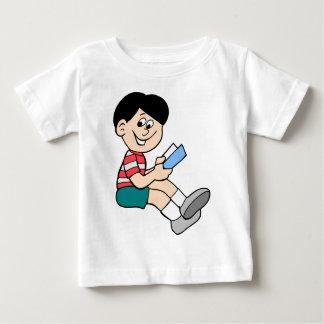 読書はおもしろいです ベビーTシャツ