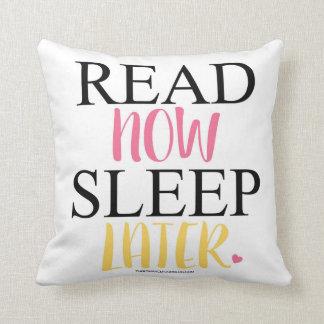 読書は今より遅い装飾用クッション眠ります クッション