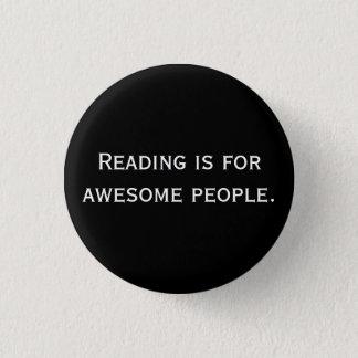 読書は素晴らしい人々ボタンのためです 3.2CM 丸型バッジ