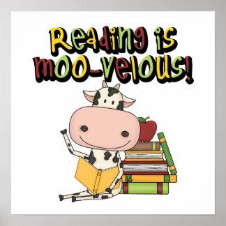 読書はMoovelousです ポスター