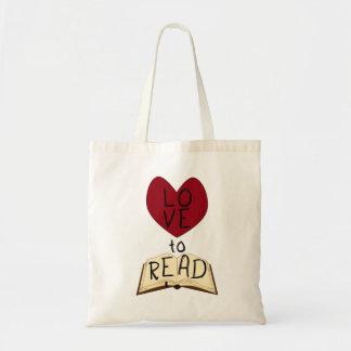 読書への愛 トートバッグ