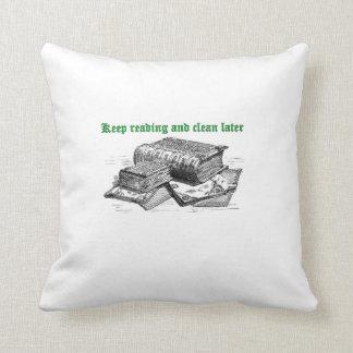 読書を保ち、より遅い枕をきれいにして下さい クッション