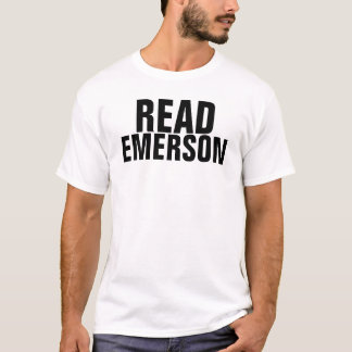 読書エマーソン Tシャツ