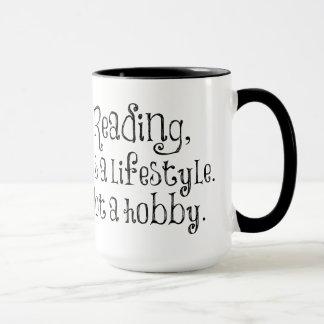 読書ライフスタイルのマグ マグカップ