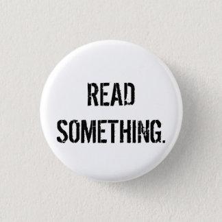 読書何かボタン 3.2CM 丸型バッジ