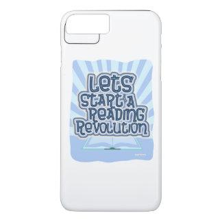 読書改革を始めて下さい iPhone 8 PLUS/7 PLUSケース