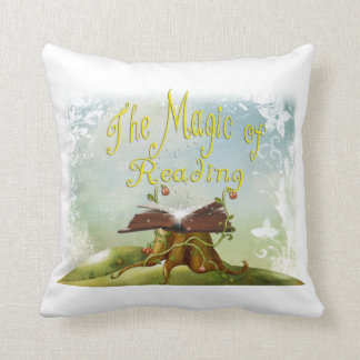 読書枕の魔法 クッション