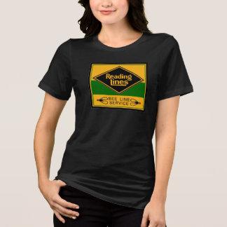 読書鉄道ライン、蜂ラインサービスTシャツ Tシャツ