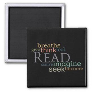 読書、シークは、磁石を想像します(暗い) マグネット