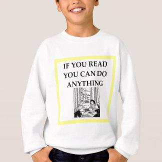 読書 スウェットシャツ