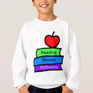 読書、休憩、Rithmetic スウェットシャツ