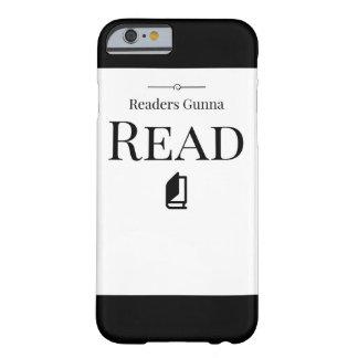 読者のGunnaの読書の電話箱 Barely There iPhone 6 ケース
