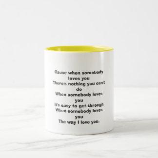 誰かがyouThereの何もyo…愛さない場合の原因 ツートーンマグカップ
