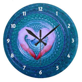 誰かはエビの時計を言います ラージ壁時計