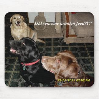 誰かは食糧を述べましたか。 マウスパッド