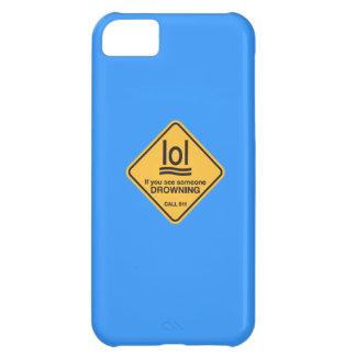 誰かを浸ることを見ればlol… 呼出し911 iPhone5Cケース