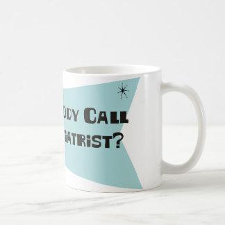 誰かをPodiatristのための呼出ししました コーヒーマグカップ