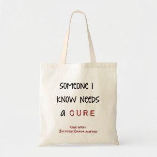 誰か私は必要性を治療知っています トートバッグ