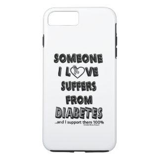誰かI愛…糖尿病 iPhone 8 PLUS/7 PLUSケース
