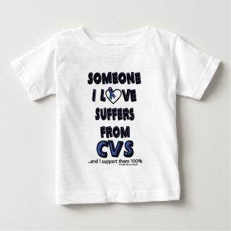誰かI愛… CVS ベビーTシャツ