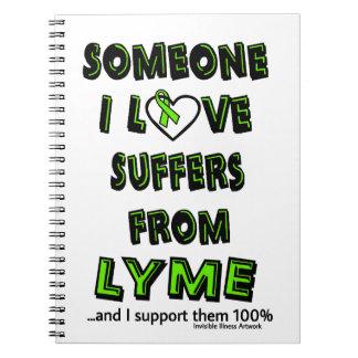 誰かI愛… Lyme ノートブック