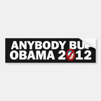 誰でもしかしオバマ- 2012年 バンパーステッカー