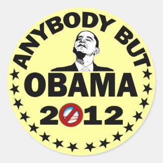誰でもしかしオバマ- 2012年 ラウンドシール