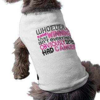 誰でも乳癌を言いました ペット服