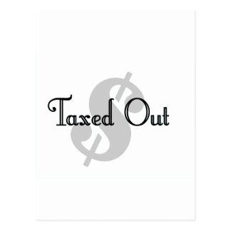 課税される ポストカード